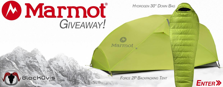 Marmot giveaway