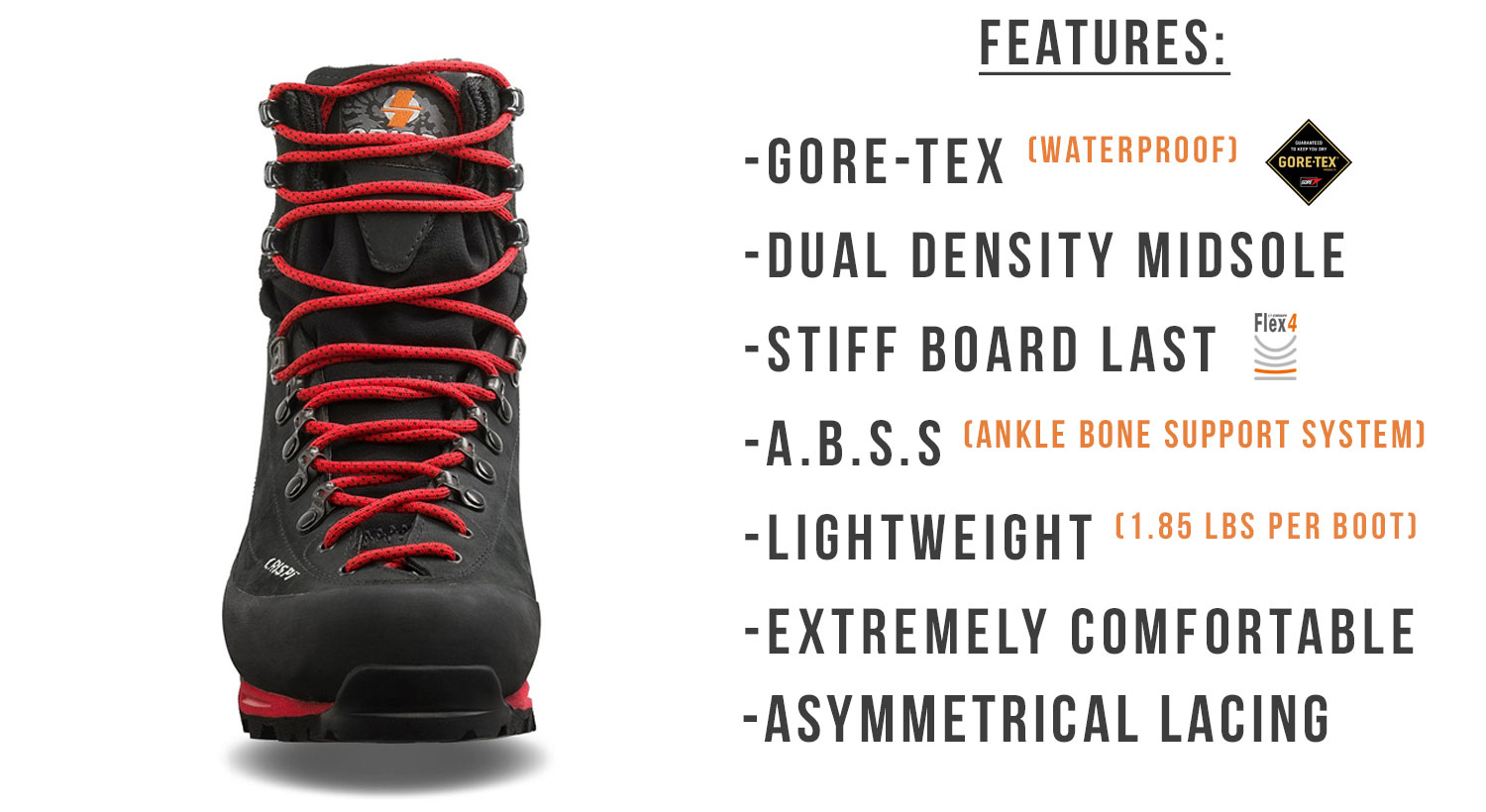 Crispi Briksdal GTX Boot Features