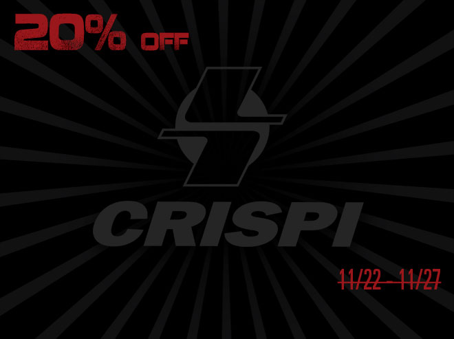 Crispi - Black Friday Savings