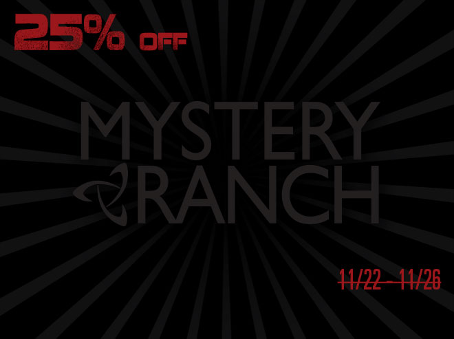 Mystery Ranch - Black Friday Savings