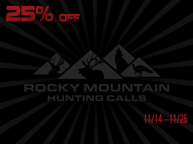 Rocky Mountain Hunting Calls=  - Black Friday Savings