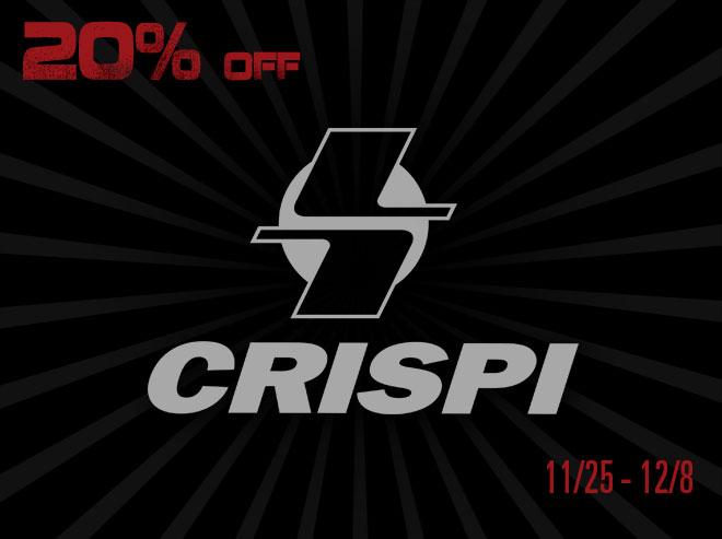 Crispi - Black Friday Savings