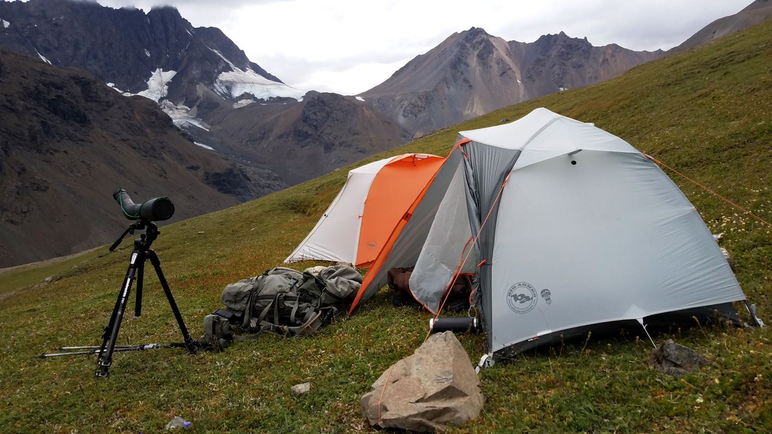 Big Agnes Tent for Lightweight Backcountry Hunting and Camping